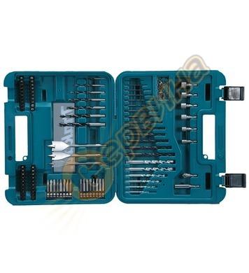 Комплект свредла и накрайници Makita D-47248 - 100 части