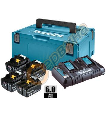Акумулаторен комплект батерии Makita 198091-4 - 18V/6.0Ah Li