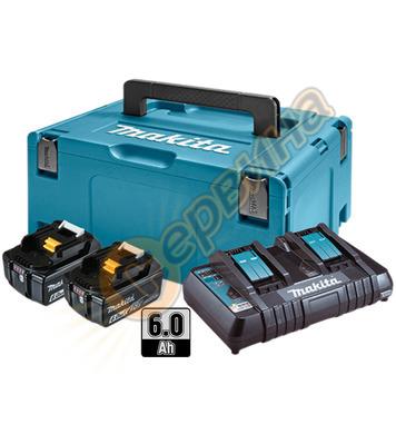 Акумулаторен комплект батерии Makita 198077-8 - 18V/6.0Ah Li