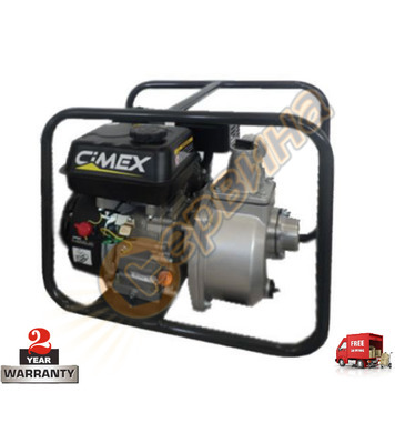 Бензинова водна помпа Cimex WP100 - 9 к.с.