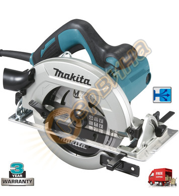 Ръчен циркуляр Makita HS7611 - 1600W