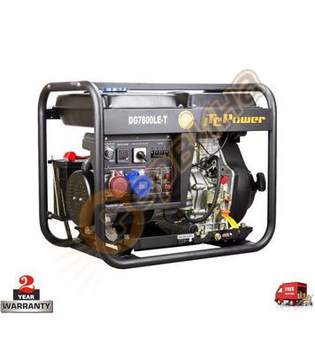 Трифазен дизелов генератор ITC Power DG 7800LE/T - 6.0KW/6.3