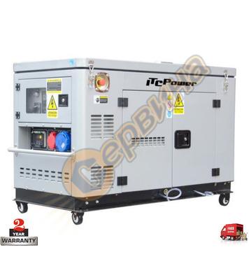 Трифазен дизелов генератор ITC Power DG 12000ХSE/Т - 9.0KW/1