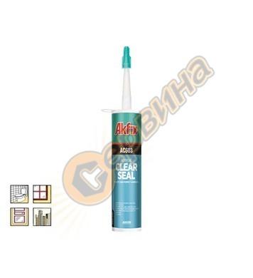 Акрилен уплътнител AS603 Akfix clear 310мл AS603 33808