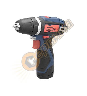 Акумулаторна винтовет Gude  BS 12-201-2OK 12V  2.0Ah 58602