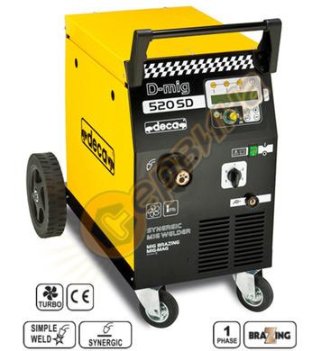 Заваръчен апарат-електрожен Deca D-MIG 520SD 180A 259000 - 1
