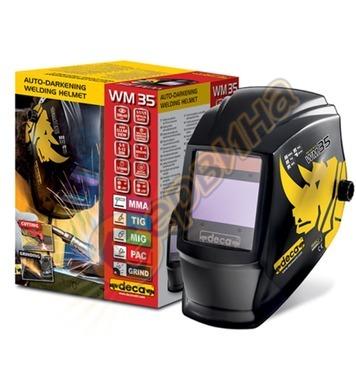 Маска за електрожен шлем фотосоларен Deca WM35 DIN 5-13 0103
