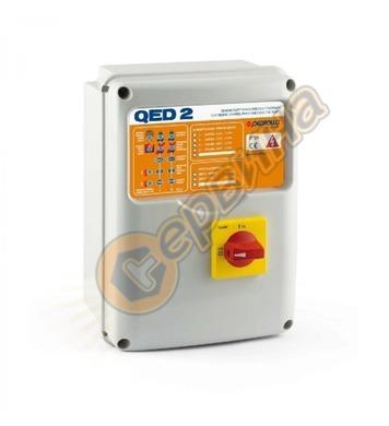 Монофазно табло за две дренажни помпи Pedrollo QED2-MONO 533