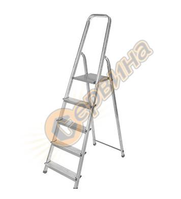 Алуминиева домакинска стълба Drabest 03090041 - 4+1бр