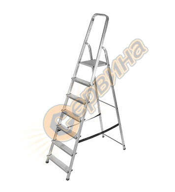 Алуминиева домакинска стълба Drabest 03090061 - 6+1бр