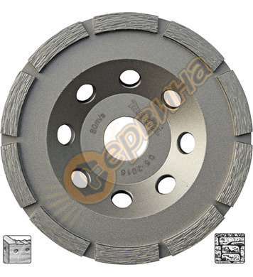 Диамантен диск Makita 125x22,23мм D-60682