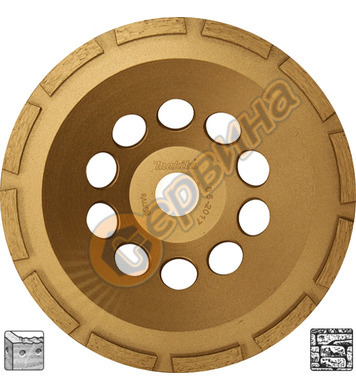 Диамантен диск Makita 180x22,23мм D-62290