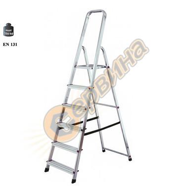 Алуминиева домакинска стълба Krause Corda 03020743 - 6+1бр