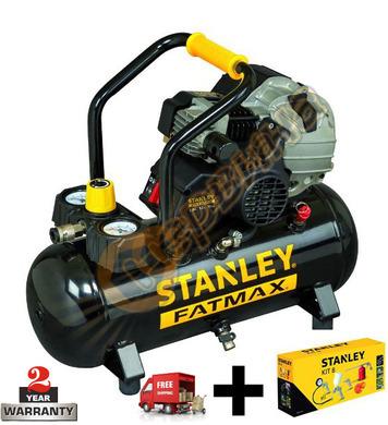 Компресор Stanley HY227-10-12SET - 12л/10бара + комплект за