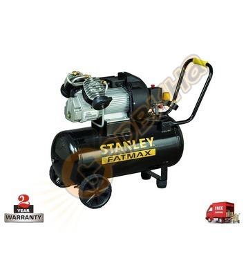 Маслен двуглав компресор Stanley DV 2 400-10-50SET - 50л/10б