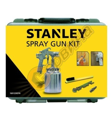 Комплект пневматичен пистолет бояджийски Stanley 160123XSTN