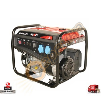 Бензинов генератор SENCI SC-4000 - 3.3KW/3.8KW