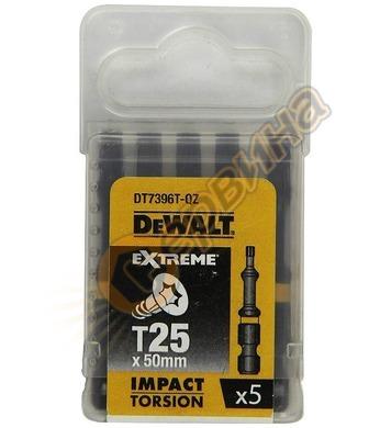 Комплект накрайници-битове DeWalt DT7396T - 5бр