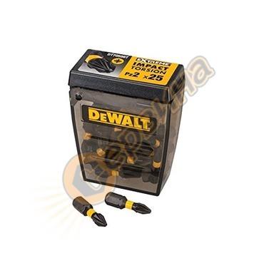 Комплект накрайници-битове DeWalt DT70556T - 25бр
