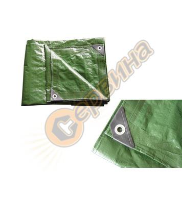 Покривен найлон - платнище DEMA 140g/m² 5x8m - зелено