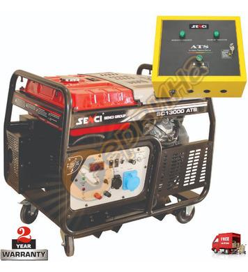 Бензинов генератор SENCI SC-13000ATS - 10KW/12KW