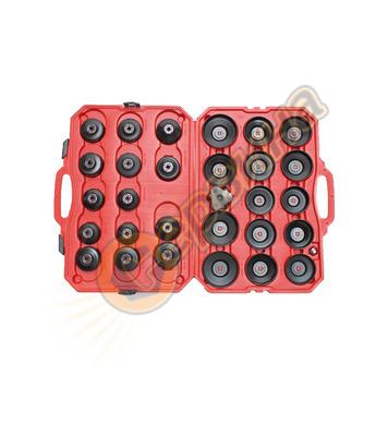 Комплект ключове за маслени филтри DEMA 30 части 40591