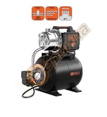 Хидрофор за чиста вода Black&Decker BXGP800XBE - 800W 3500л/