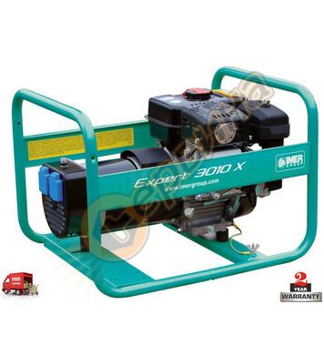 Бензинов генератор Imer EXPERT 4010 X - 2.4KW/3.3KW/4.10kVA