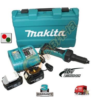 Акумулаторен прав шлайф Makita DGD800RFE - 18V/3.0 Ah Li-Ion
