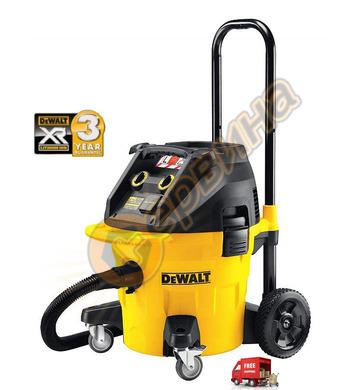 Прахосмукачка за сух и мокър режим DeWalt DWV902L - 1400W