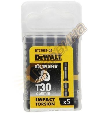 Комплект накрайници-битове DeWalt DT7398T - 5бр