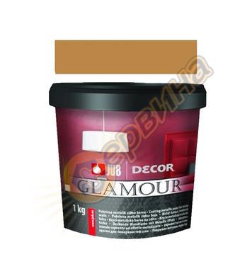 Цветна гелна маса - бронзова JUB Decor Glamour J127 - 650мл