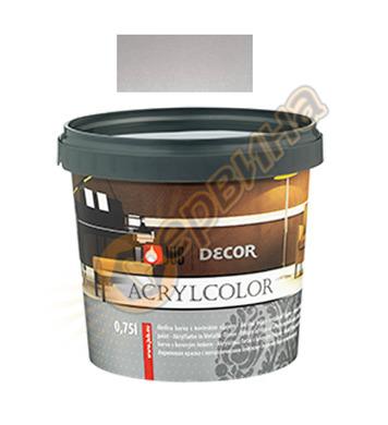Цветна гелна маса - сребърна JUB Decor Acrylcolor J129 - 750