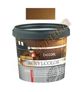 Цветна гелна маса - бронзова JUB Decor Acrylcolor J130 - 750