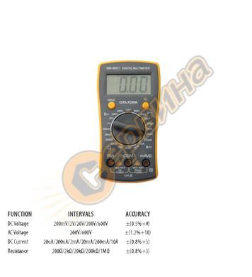 Дигитален мултиметър-мултицет Ceta Form 0905G80-MDC1 33988