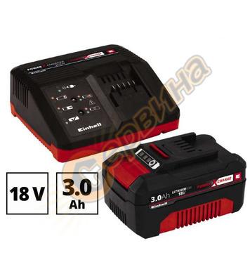 Акумулаторен комплект батерия и зарядно Einhell PXC 4512041