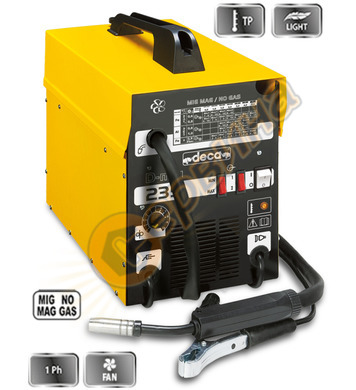 Заваръчен апарат-електрожен с телоподаващо устройство Deca D