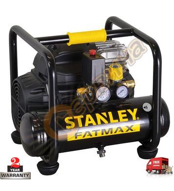 Безшумен компресор Stanley S244-8-6 - 6л/62dB/8бара