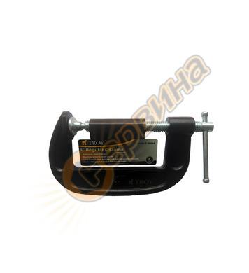 Дърводелска C-образна стяга Troy  T25064 100мм (4