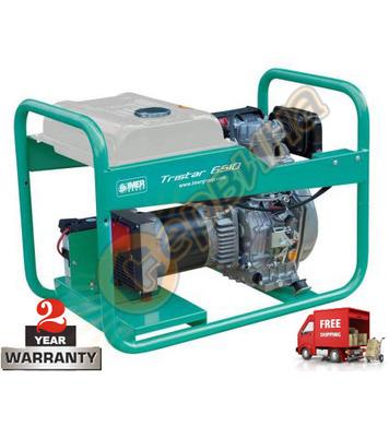 Бензинов трифазен генератор Tristar 6510 EX - 5KW/5.8KW/7.25