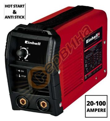 Заваръчен апарат-електрожен Einhell TC-IW 110 1544160 - 100A