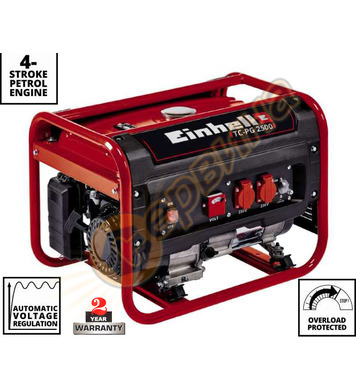 Бензинов генератор Einhell TC-PG 2500 4152540 - 2.1KW/2.4KW