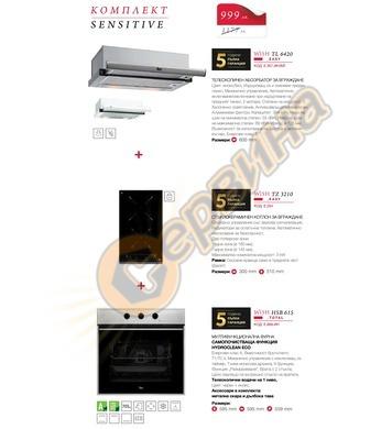 Комплект кухненски електроуреди Teka SENSITIVE - Стъклокерам
