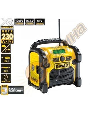 Акумулаторно радио DeWalt DCR020 - 10.8-18V без батерия и за