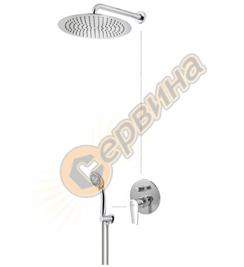 Комплект Teka CALVIA COMBO - душ система за вграждане 321720