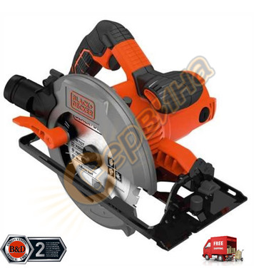 Ръчен циркуляр Black&Decker CS1550 - 1500W