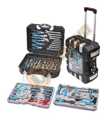 Комплект гедоре и инструменти с тресчотка Fervi 0165 - 175ча