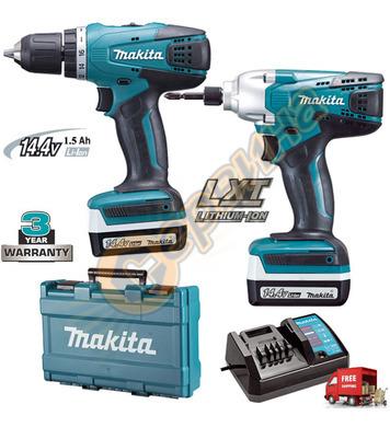 Комплект акумулаторни машини Makita DK1497 - 14.4V/1.5Ah Li-
