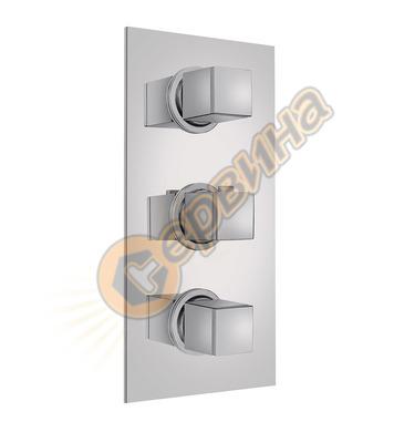 Термостатична розетка  Teka - за стена с 3 извода 780230200