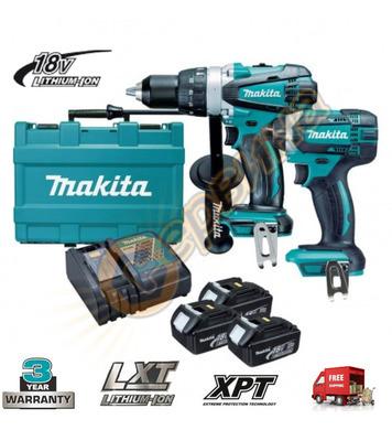 Комплект акумулаторни машини Makita DLX2145X1 - 18V/3.0Ah Li